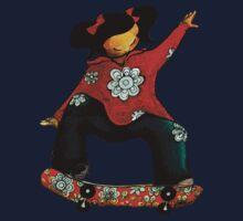 Skater Girl TShirt by Karin Taylor by © Karin (Cassidy) Taylor