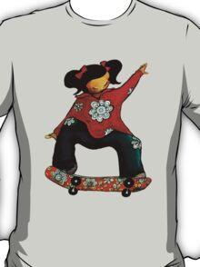 Skater Girl TShirt by Karin Taylor T-Shirt