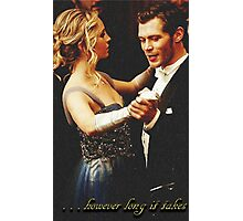 however long it takes - Klaroline Photographic Print