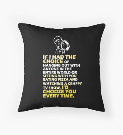 Words of love Throw Pillow