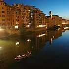 Rushing home to see my love  (River Arno - Firenze) by Aiwei Yu