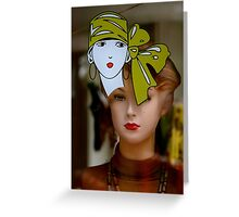 Amsterdam Mannequin Greeting Card