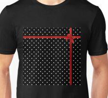 Polka Dot Ribbon Unisex T-Shirt