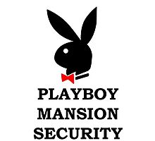 Playboy Mansion Security by csphotography