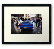 Nissan Skyline GTR Framed Print