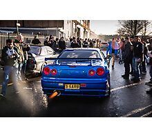 Nissan Skyline GTR Photographic Print