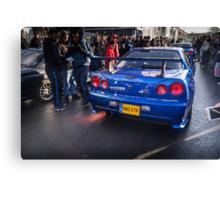 Nissan Skyline GTR 2 Canvas Print