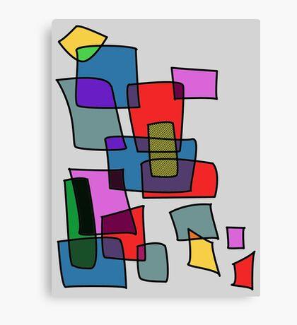 Blocks Canvas Print