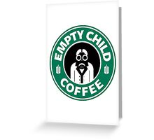 DR COFFEE 4 Greeting Card