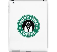 DR COFFEE 4 iPad Case/Skin