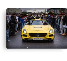 Mercedes SLS AMG  Canvas Print