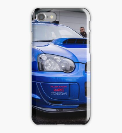 Subaru WRC iPhone Case/Skin