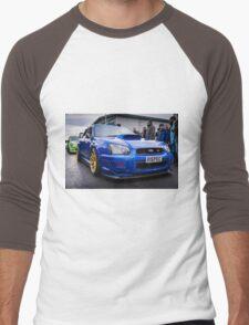 Subaru WRC Men's Baseball ¾ T-Shirt