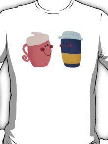 Cute Coffee Couple T-Shirt