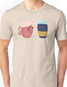 Cute Coffee Couple Unisex T-Shirt
