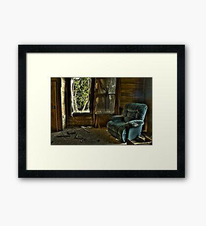 Recliner Memories Framed Print