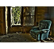 Recliner Memories Photographic Print