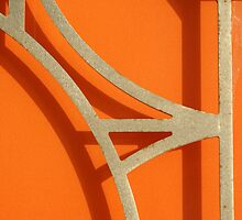 Abstract Orange by lallymac