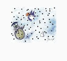 Totoro Smile - Line Matita's Art Unisex T-Shirt