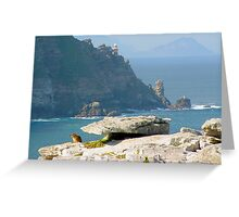 Rock Mouse Greeting Card