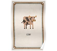 Pixel RPG - Cow Poster