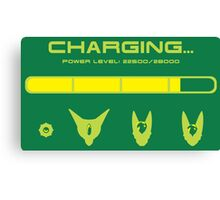 CHARGING CELL Canvas Print