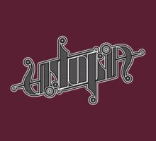 Utopia Ambigram by timcostello