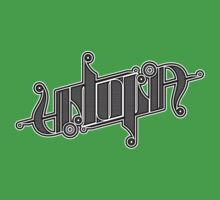 Utopia Ambigram One Piece - Short Sleeve