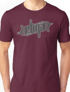 Utopia Ambigram Unisex T-Shirt