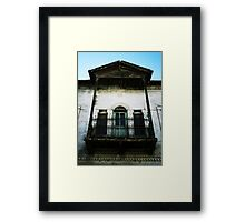 Turkish Porch, 1931 Framed Print