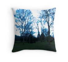 All is dark Throw Pillow