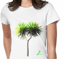 Natural NZ - Cabbage Tree Womens Fitted T-Shirt