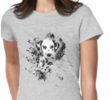 dalmation love Womens Fitted T-Shirt
