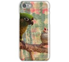 Everybody Needs A Little Encouragement - Sparrow & Parrot - NZ iPhone Case/Skin