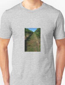 along the grape vines T-Shirt