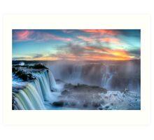 Iguazu Falls - Argentina Art Print