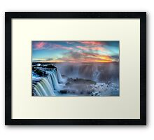 Iguazu Falls - Argentina Framed Print
