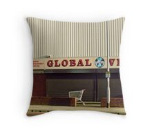 Global Sale ( Objects in the landscape )  Throw Pillow