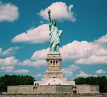 Statue of Liberty in Colour (2014) by Andy Parker