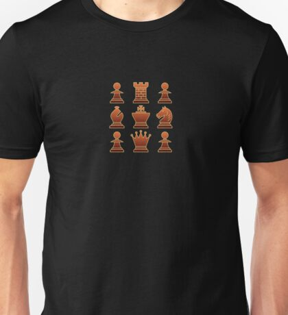 Chess - Brown square T-Shirt