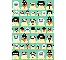 Pug pattern Photographic Print
