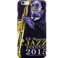 De Montreal Jazz  iPhone Case/Skin