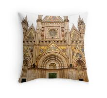 Dome of Orvieto Throw Pillow