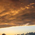 stormy sunset by aathomas