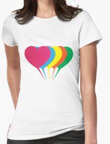(Girls) Heart Balloons T-Shirt