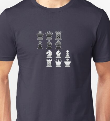 Chess - Black and white blocks T-Shirt