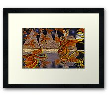 Dragon Swarm Framed Print