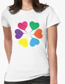 (Girls) Heart Flower T-Shirt