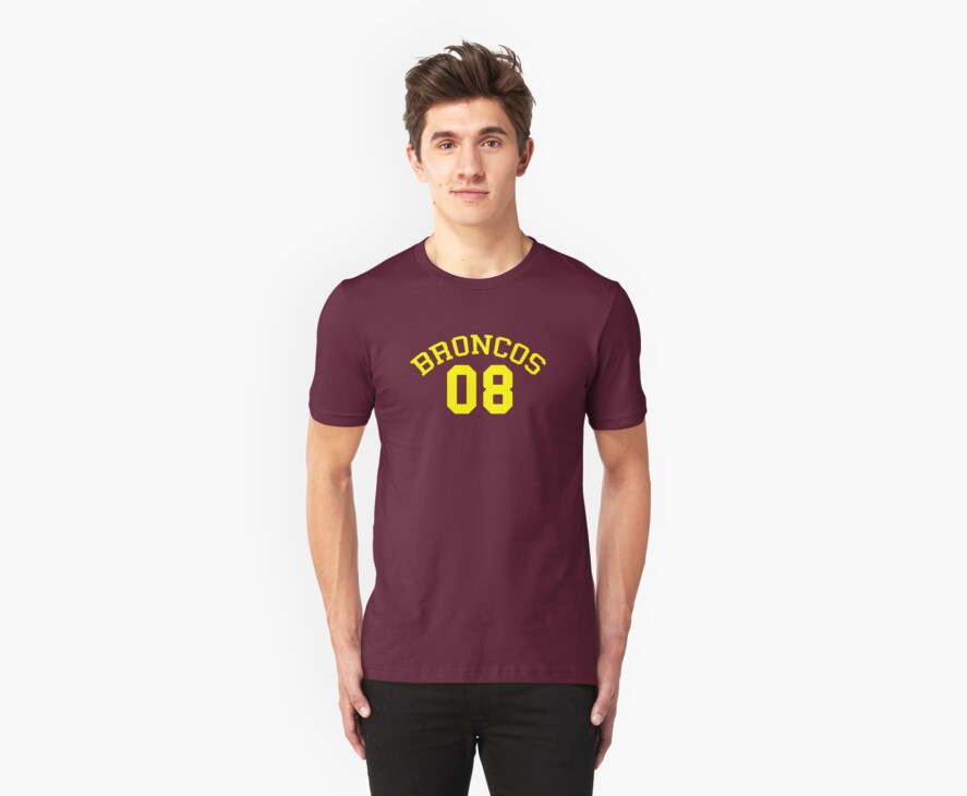 Broncos Supporter Fan Club T-Shirt by troyw