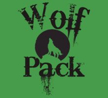 Wolf Pack One Piece - Short Sleeve